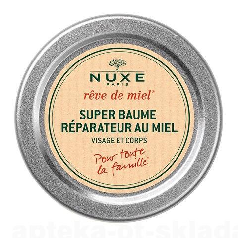 Nuxe Рэв де Мьель супербальзам 40мл для лица/тела восстанавливающий с медом