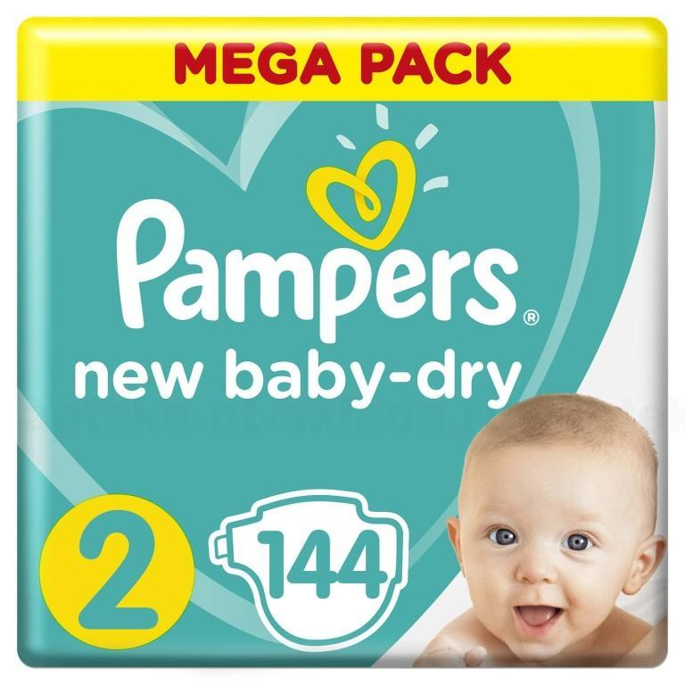 Подгузники Pampers new baby-dry р 2 (4-8 кг) N 144