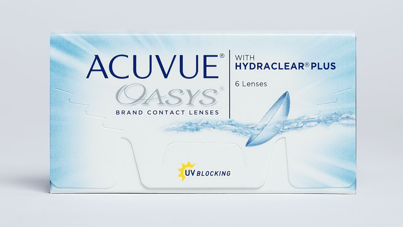 Линзы контактные Acuvue Oasys with Hydraclear plus 8.4/-6.50 N 1