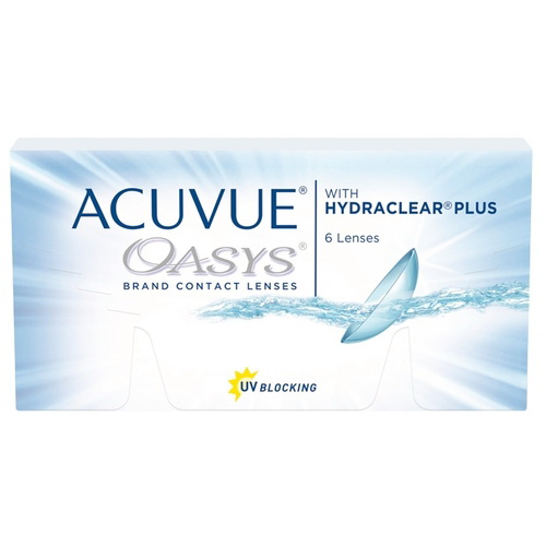 Линзы контактные Acuvue Oasys with Hydraclear plus 8.8/-4.75 N 6