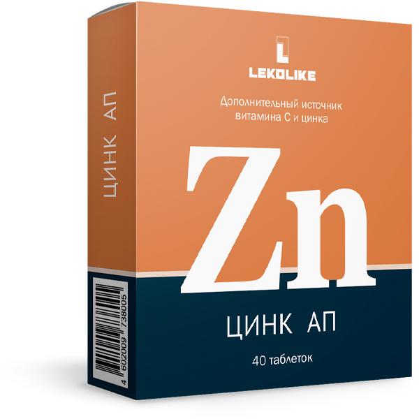 Цинк АП тб N 40 купить в Чайковский, описание и инструкция по применению лекарства, купить Цинк АП тб N 40 заказ на Apteka-ot-sklada.ru