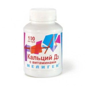Кальций-Д3 капс с витаминами N 100 купить в Новосибирск, описание и инструкция по применению лекарства, купить Кальций-Д3 капс с витаминами N 100 заказ на Apteka-ot-sklada.ru