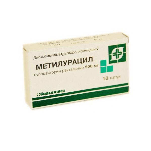 метилурациловие свечи инструкция