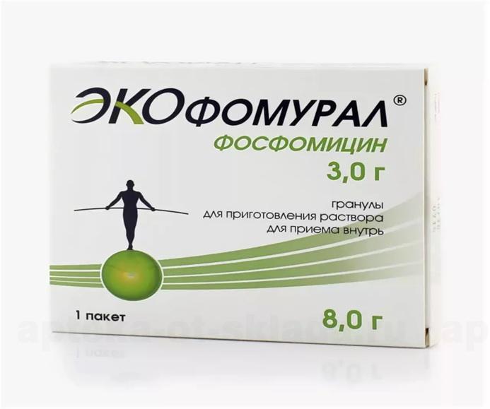 Экофомурал пор 3 г N 1 купить в Новотроицк, описание и инструкция по применению лекарства, купить Экофомурал пор 3 г N 1 заказ на Apteka-ot-sklada.ru