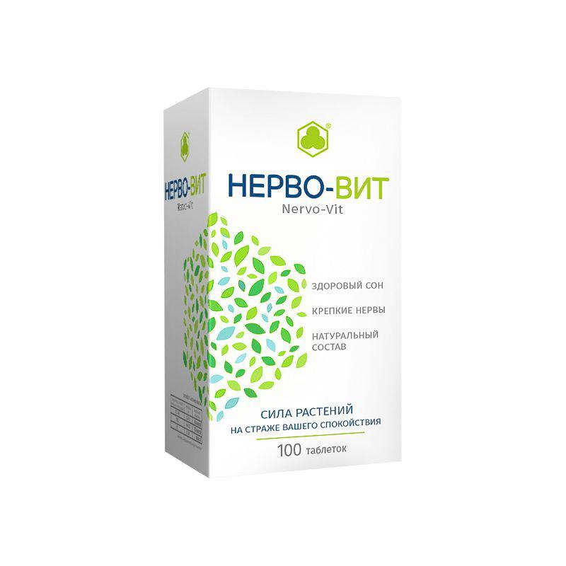 Нерво-вит 240мг 100 таб (бад): цена от 312,70 руб. В аптеках санкт.