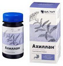 Ахиллан фл 75мл БАД N 1 купить в Новосибирск, описание и инструкция по применению лекарства, купить Ахиллан фл 75мл БАД N 1 заказ на Apteka-ot-sklada.ru